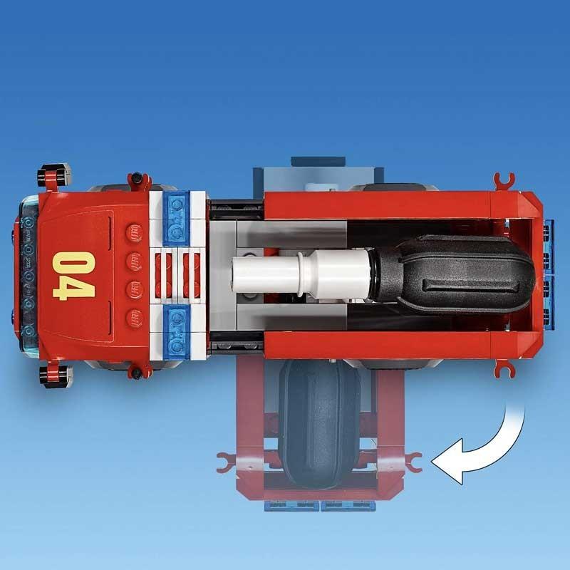 LEGO City Fire Rescate del Incendio en la Hamburguesería
