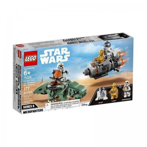 Lego Star Wars Cápsula de Escape vs Dewback