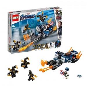 Lego Capitán América Ataque de los Outriders