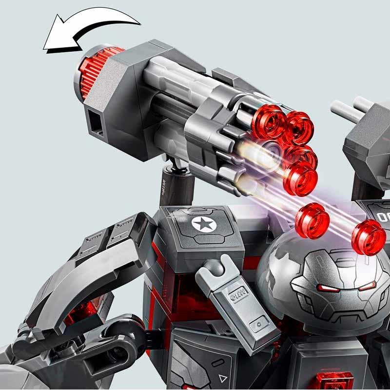 Lego Super Heroes Depredador de Máquina de Guerra