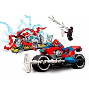 Lego Super Heroes Rescate en Moto de Spider-Man