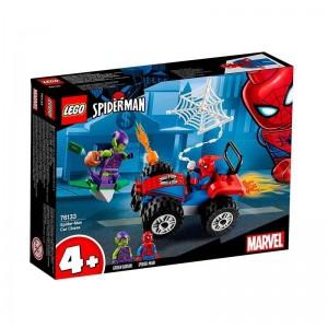 Lego Super Heroes Persecución en Coche Spiderman