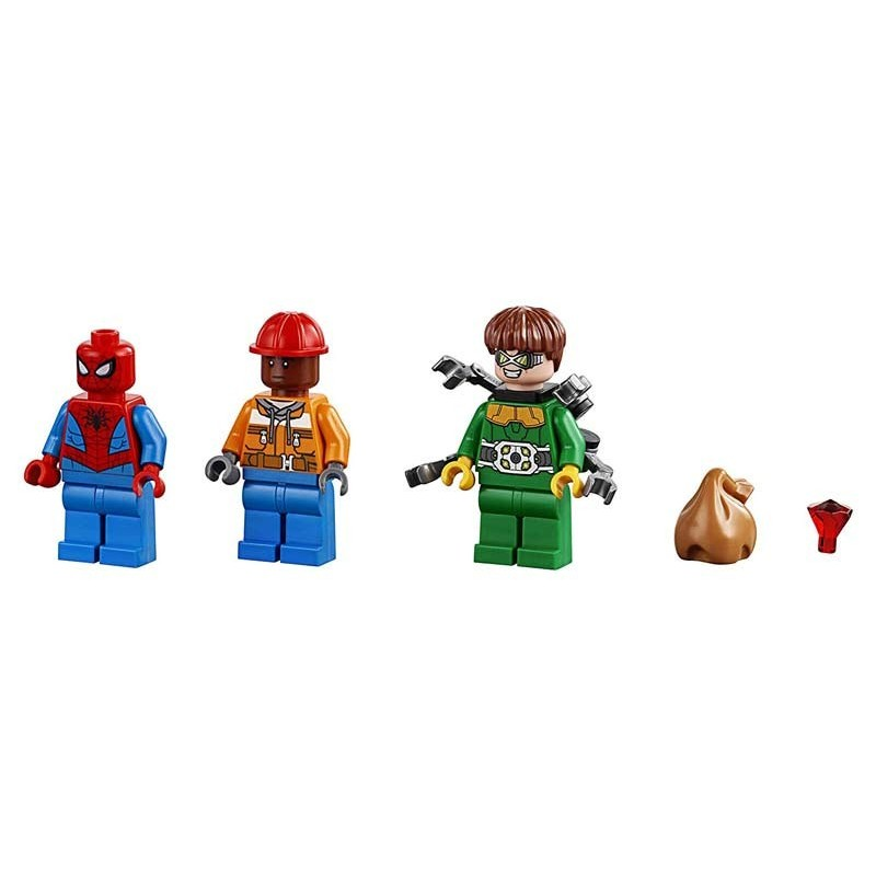 Lego Super Heroes Spiderman Robo Diamantes Doc Ock