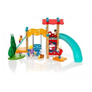 Playmobil Family Fun Parque Infantil