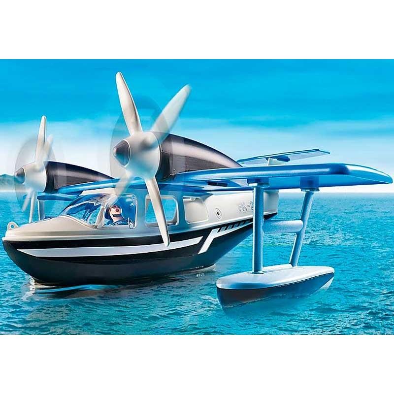 Playmobil Action Hidroavión de Policía