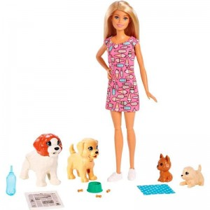 Barbie y su Guardería de Perritos