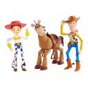 Toy Story 4 Woody, Perdigón y Jessie