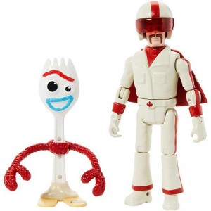 Toy Story 4 Forky y Duke Figuras
