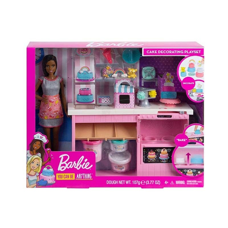 Barbie Quiero Ser Decoradora de Pasteles