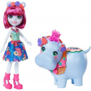 Enchantimals Hedda Hippo y Lake