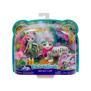 Enchantimals Tadley Tiger y Kitty