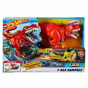 Hot Wheels Alboroto del T-Rex