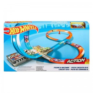 Hot Wheels Pista en Forma de 8