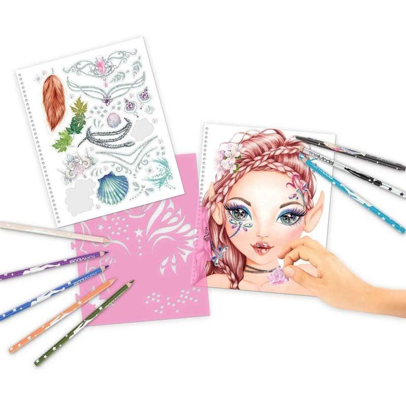 Fantasy Model Cuaderno Crea tu Fantasía