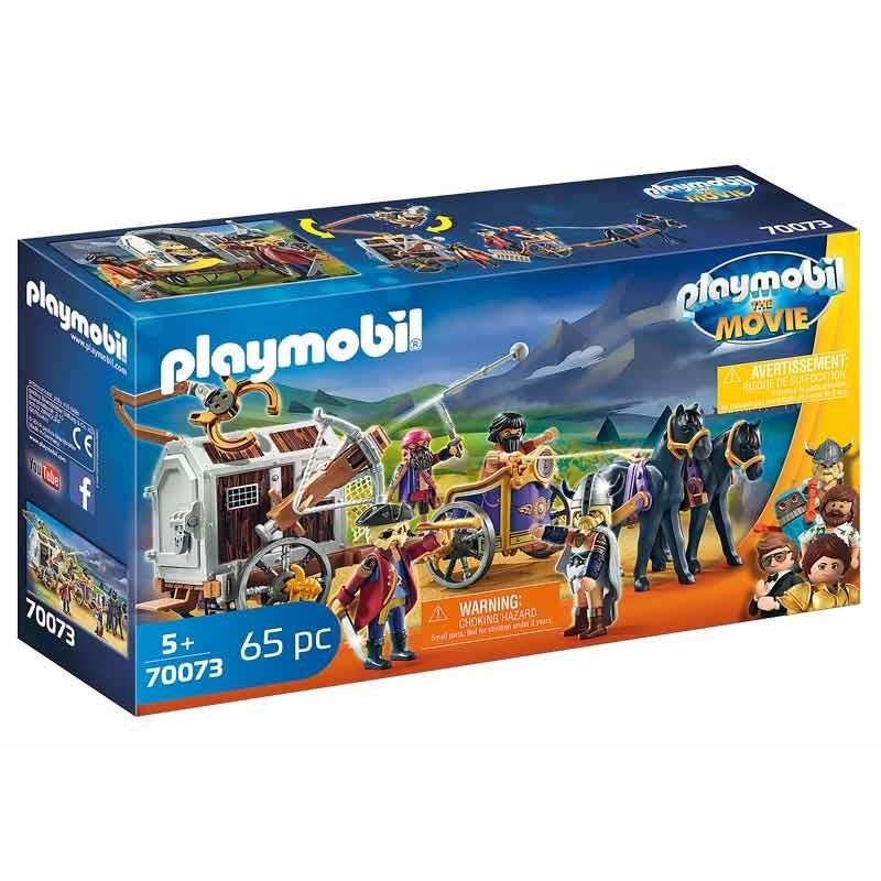 Playmobil The Movie Charlie con Prisión