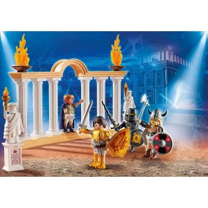 Playmobil The Movie Emperador Maximus en Coliseo