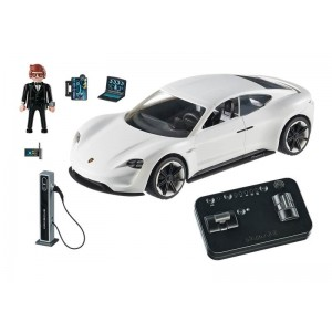 Playmobil The Movie Porsche Mission E y Rex Dasher