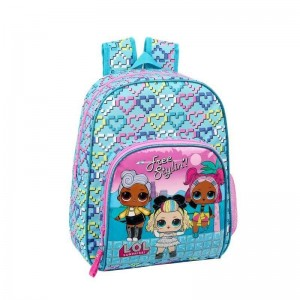Mochila Infantil LOL Surprise Adaptable