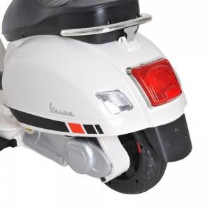 Moto Eléctrica para Niños Vespa Blanca