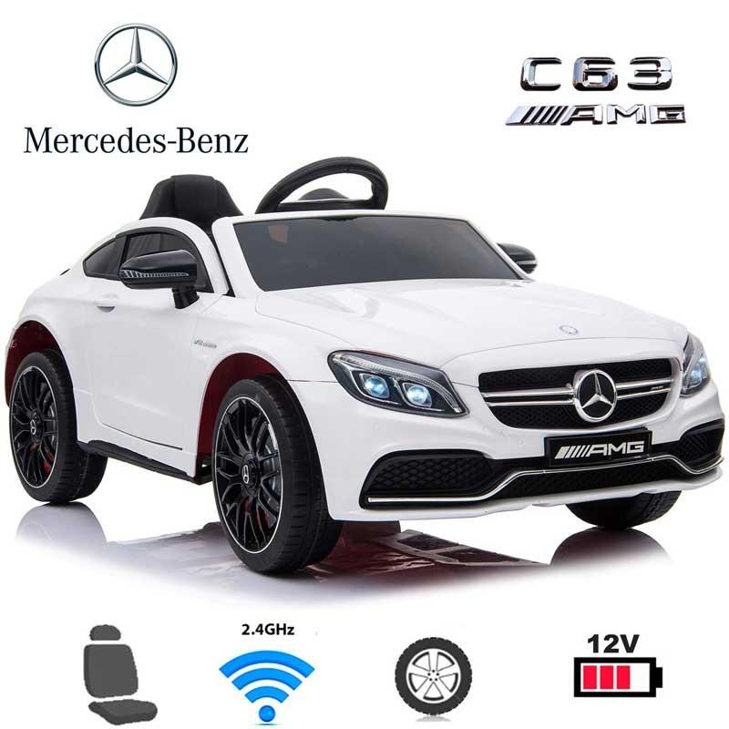Coche Eléctrico Infantil Mercedes C63