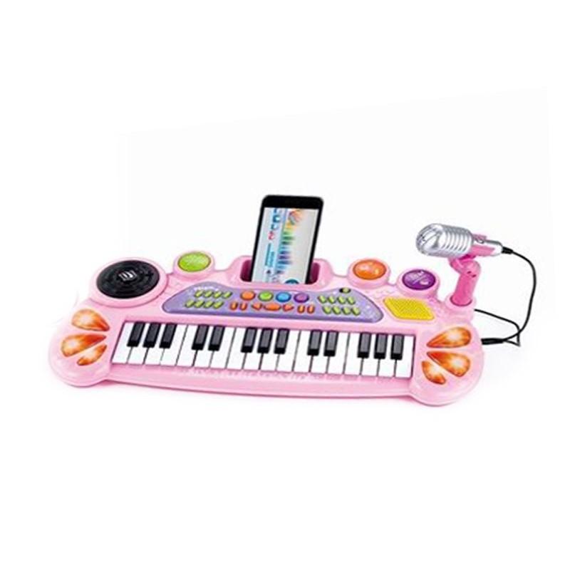 Piano Infantil con Micrófono y Conexión MP3
