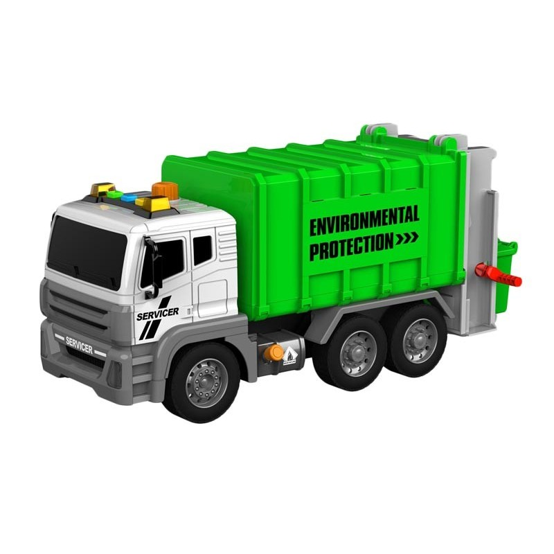 Camión de Basura Interactivo