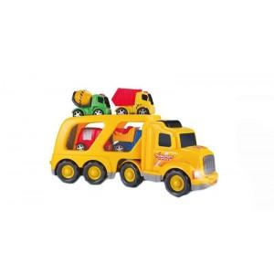 Camión Transporta Camiones