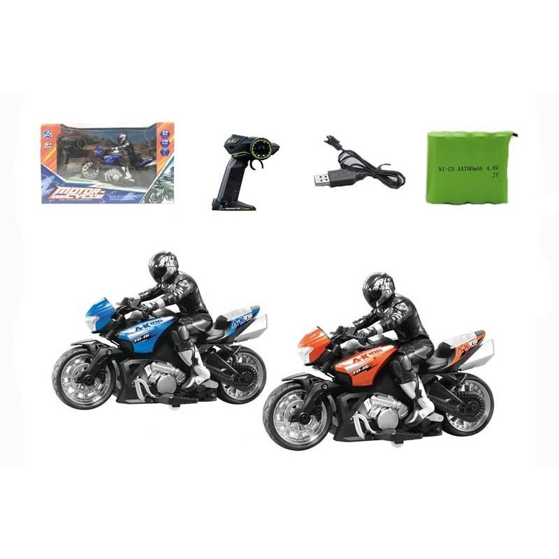 Moto con Radio Control