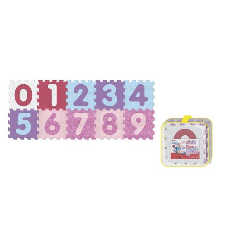 Alfombra Puzzle de Números