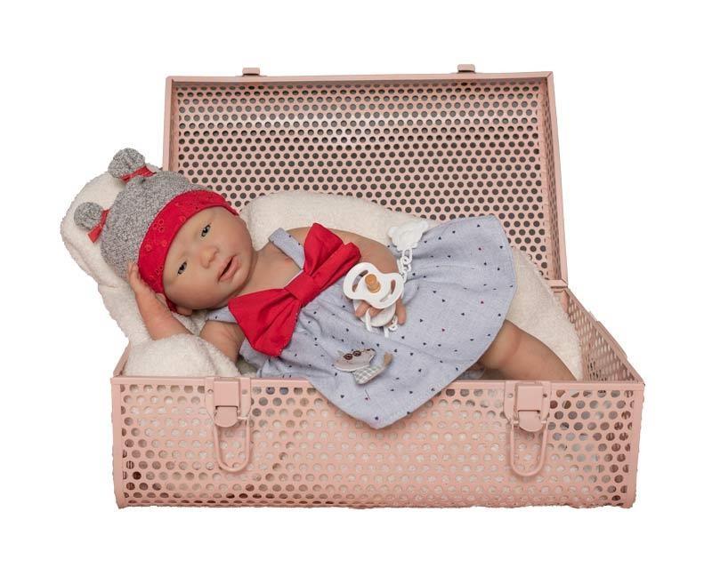 Bebé Reborn de Silicona Inés