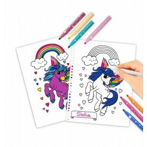 Libro para Colorear Ylvi y los Minimoomis