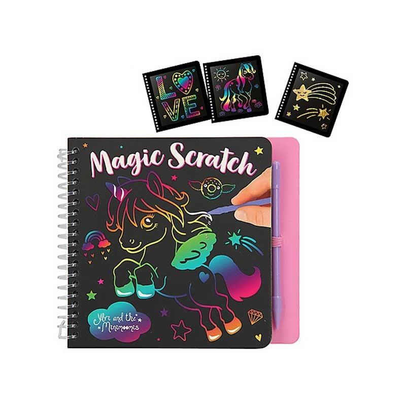 Libro Mágico Scratch Ylvi y los Minimoomis