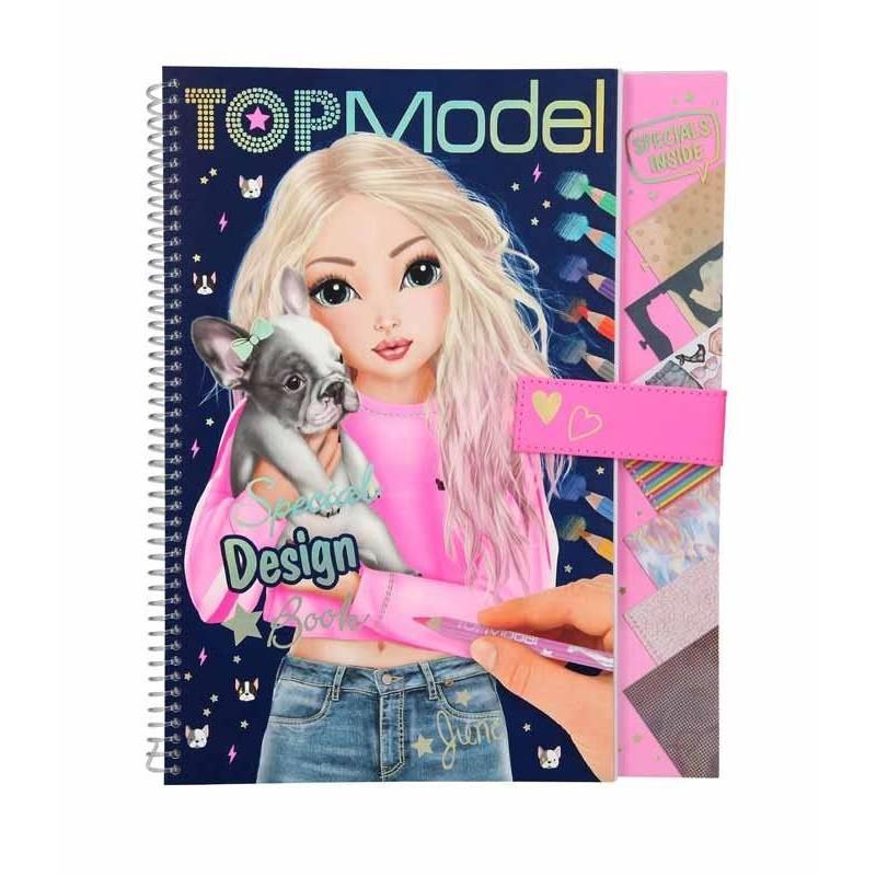 Libro para Colorear Top Model
