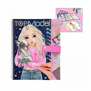 Libro para Colorear Top Model