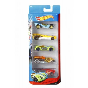 Hot Wheels Pack 5 Vehículos