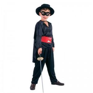 Disfraz de El Zorro para niño S