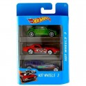 Hot Wheels Pack 3 Coches