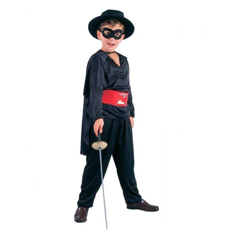 Disfraz de El Zorro para niño M