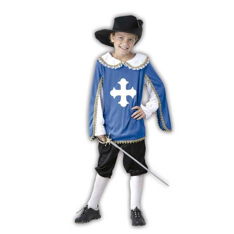 S Mosquetero niño disfraz