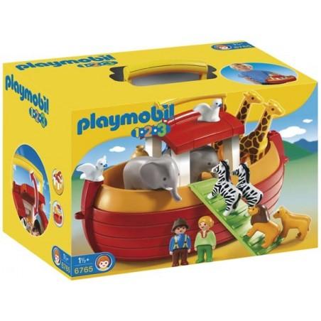 Arca de Noé Maletín 1.2.3 Playmobil