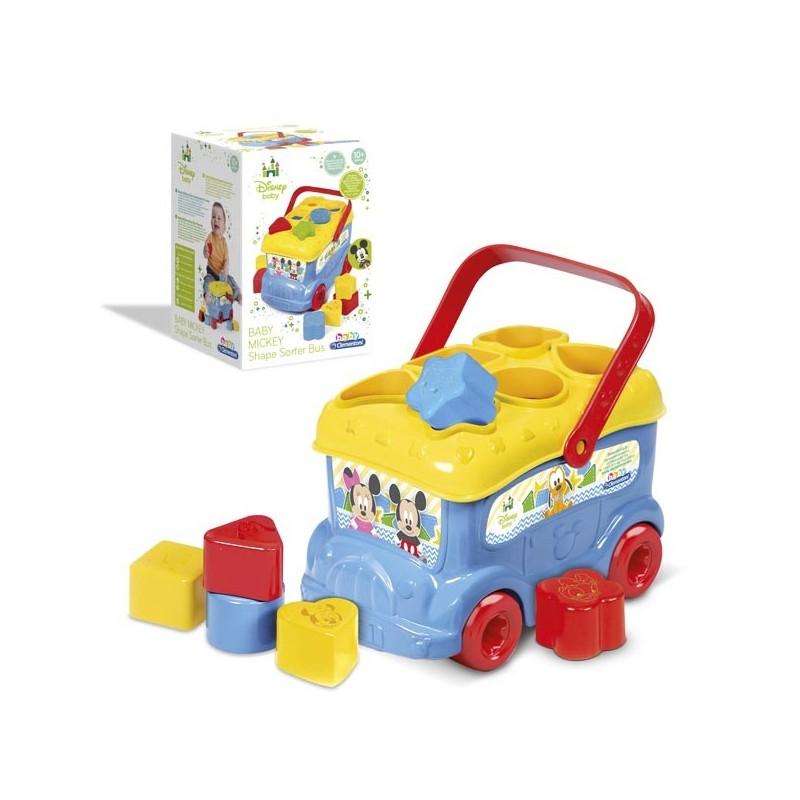 Autobús Formas y Colores Baby Mickey