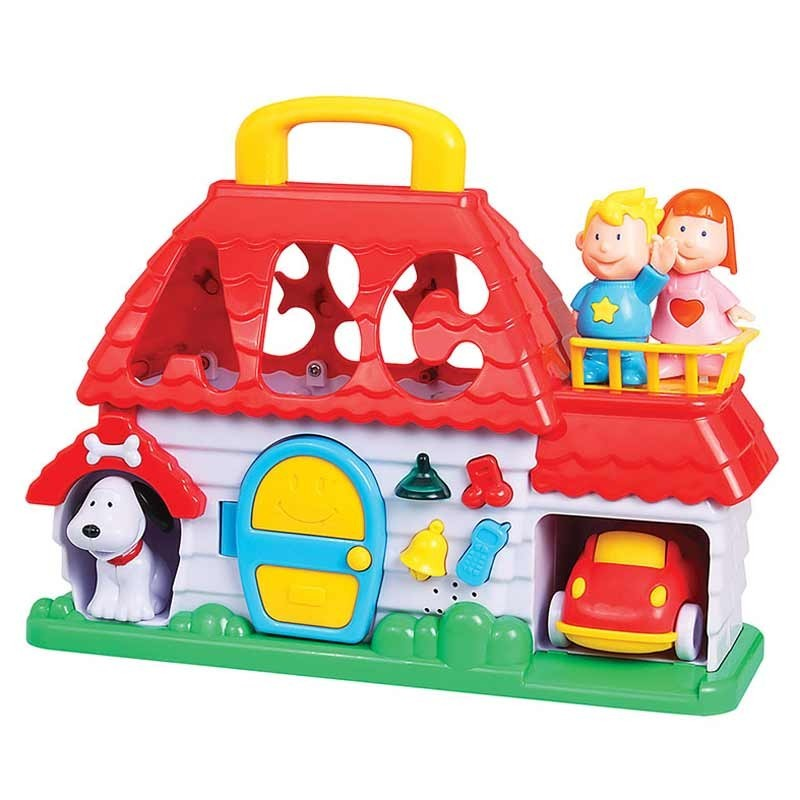 Casa Didactica Infantil con Encastres