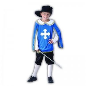 M Mosquetero infantil niño disfraz