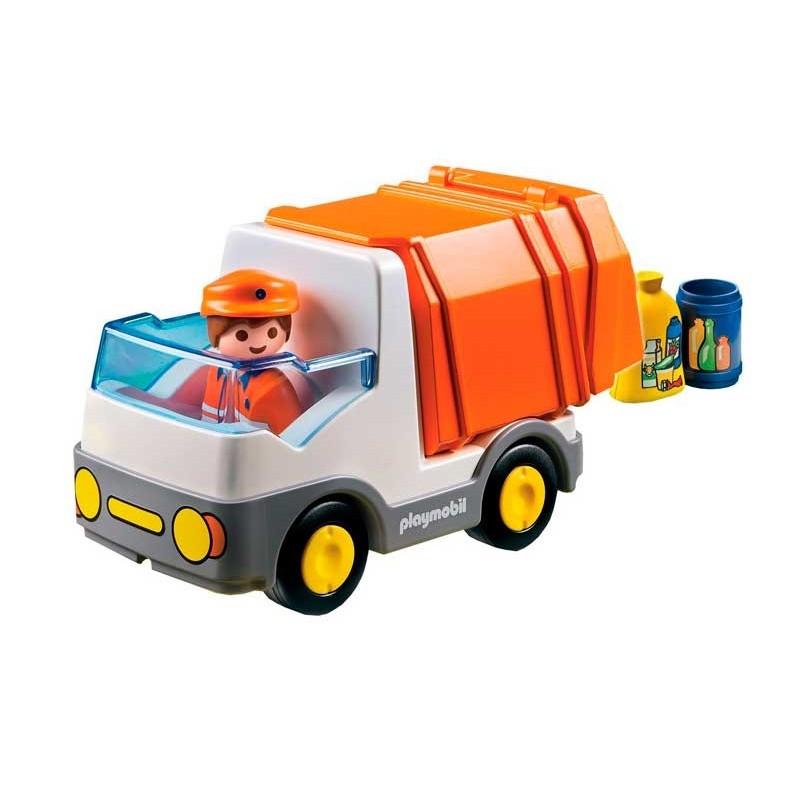 Playmobil 1.2.3. Camión de Basura