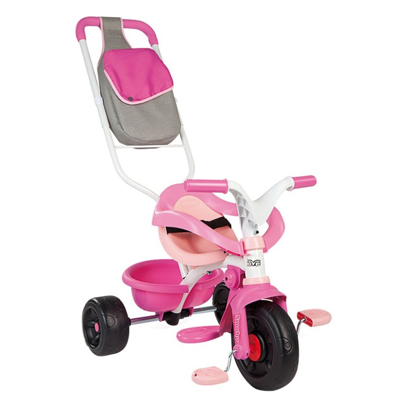 TRICICLO BE FUN CONFORT ROSA SMOBY