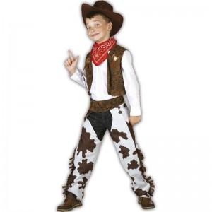 M Vaquero niño disfraz