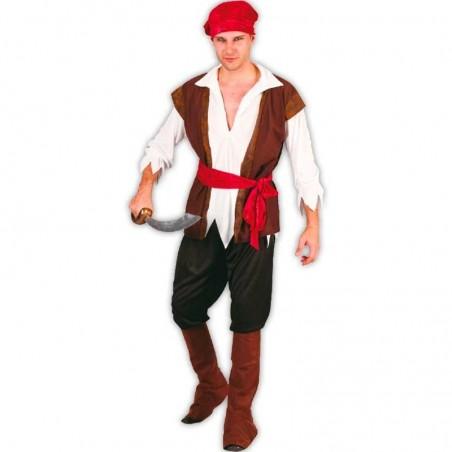 Pirata hombre adulto disfraz