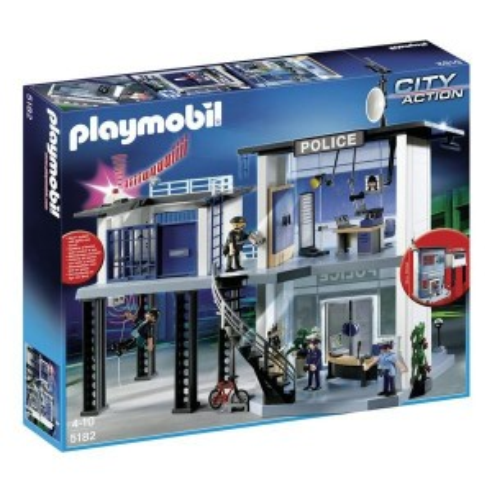 Comisaria policía con sistema alarma - Playmobil