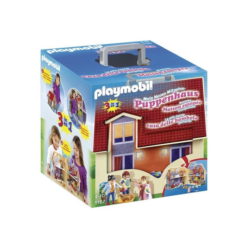 Casa de muñecas maletín - Playmobil
