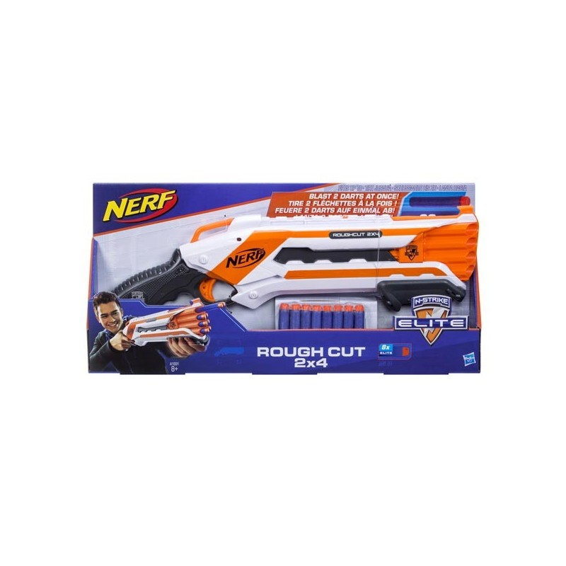 Nerf Elite Rough Cut 2x4